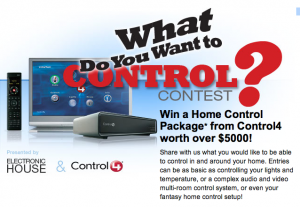 What do you want to control?
